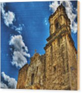 High Noon At The Bell Tower Wood Print