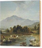 High Point  Shandaken Mountains, 1853 Wood Print