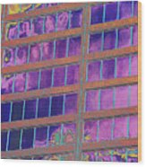 High Roller Suites At The Flamingo Hotel Wood Print by Richard Henne