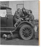 High School Mechanics 1927 Wood Print