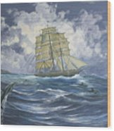 High Seas Adventure Wood Print