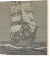 High Seas Wood Print