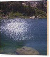 High Sierrastreasure Lakes Viii Wood Print