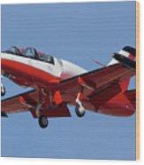 High Speed Promotions Aerovodochody L-39 Albatross N391za Mesa Gateway Airport Arizona March 11 2011 Wood Print
