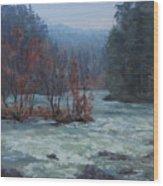 High Water Wood Print