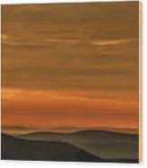 Highland Daybreak Wood Print