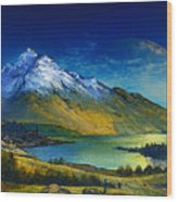 Highland Home Wood Print