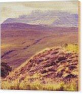 Highland Landscape Wood Print