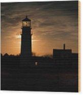 Highland Light-a.k.a. Cape Cod Light Wood Print