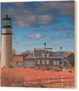 Highland Lighthouse Truro Massachusetts Wood Print