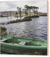 Highland Loch Wood Print