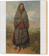 Highland Mary Wood Print