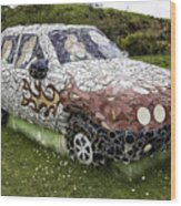 Highland Stoneware Car Wood Print