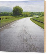 Highland Scenic Highway Route 150 Wood Print