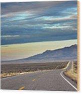 Highway 130 To Minersville Wood Print