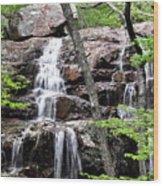 Highway E Falls 9 Wood Print
