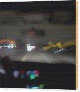 Highway Hypnosis Wood Print