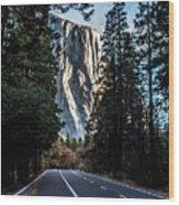 Highway To Heaven Wood Print