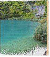 Hiking Kaluderovac Lake Wood Print