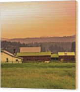 Hill City Scenic View, South Dakota Wood Print