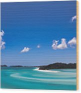 Hill Inlet Wood Print