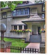 Hills-decaro House Wood Print