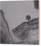 Hills Wood Print
