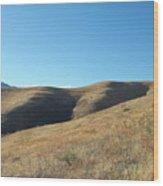 Hills Of Colorado Wood Print
