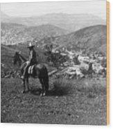 Hills Of Guanajuato - Mexico - C 1911 Wood Print