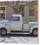 Hillsboro New Mexico 1949 Gmc 100 Wood Print