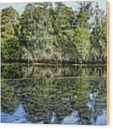 Hillsborough River Panorama 1 Wood Print