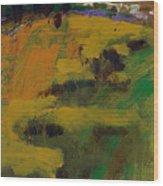 Hillside  Wood Print