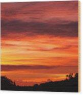 Hilo - Vog - Sunrise Wood Print