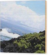 Hilo Cross Wood Print