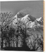 Himalaya ...the Trishul Peak Wood Print