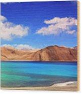 Himalayan Lake Wood Print