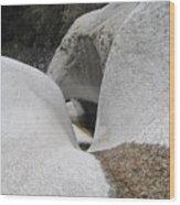 Himalayan Rock Wood Print