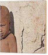 Himba Boy Wood Print