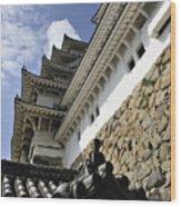 Himeji Castle Tower Wood Print
