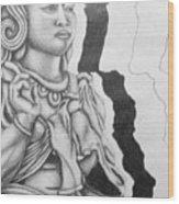 Hindu Goddess Wood Print