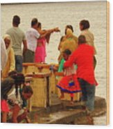 Hindu Offering 2 Wood Print