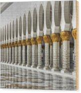 Hinduism Arch 1 Wood Print