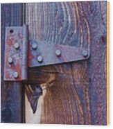 Hinged Wood Print