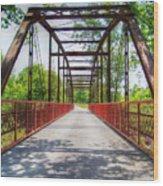 Hinkson Creek Bridge Wood Print