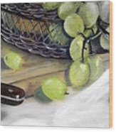 Hint Of Color Wood Print by Penny Everhart