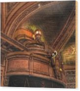 Hippodrome Theatre Balcony - Baltimore Wood Print