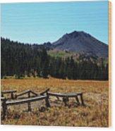 Hiram Peak Wood Print