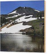 Hiram Peak Glaciers Wood Print