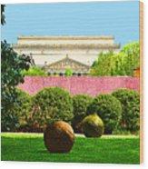 Hirshhorn Colour Wood Print
