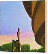Hirshhorn Sky Wood Print
